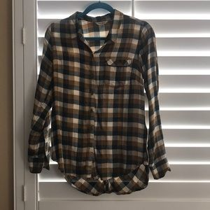 Lucky Brand Flannel Top
